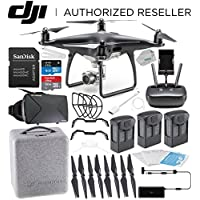DJI Phantom 4 PRO Obsidian Edition Drone Quadcopter (Black) Virtual Reality Experience VR Ultimate Bundle