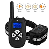 Cheap HAOLIXIN Dog Training Collar with Remote Reflective Collar Strap 1450ft Dog Shock Collar Beep Vibration Shock Modes for Small Medium Large Dogs
