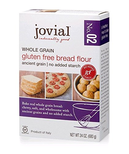 JOVIAL Gluten Free Whole Grain Pastry Flour, 24 OZ (Best Flour For Pastry)