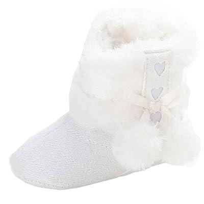 fd91d5b40f1df Ouneed® 0-18 mois Bebe Naissance Souple Chausson Verlous Boots (11