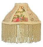 Meyda Tiffany 25901 Fabric & Fringe Roses Lamp Shade - 6