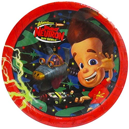 Jimmy Neutron Large Paper Plates -