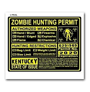 Kentucky ky zombie hunting license permit for Ky fishing license