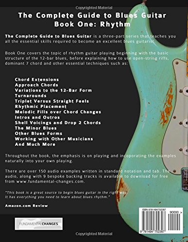 The Complete Guide to Playing Blues Guitar: Book One - Rhythm (Play ...