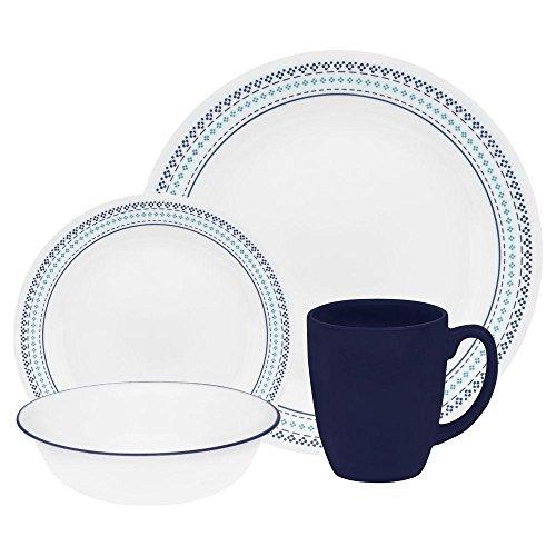 corelle dinnerware set stitch - 5
