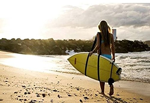 Adjustable Stand Up Paddleboard, Surfboard, Kayak, Wakeboard, Snowboard Shoulder Strap Sling Carrier by Surf Repair Co.