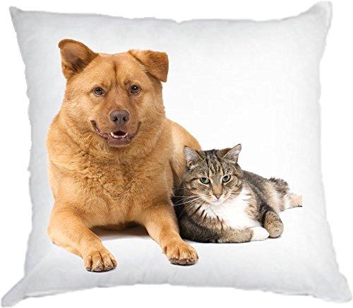 Kissen mit individuellem Tierbild
