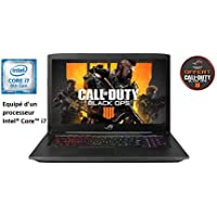 "Asus ROG SCAR-GL703GM-EE033T PC portable Gamer 17"" 120Hz Gris métal (Intel Core i7, 16 Go de RAM, 1To + SSD 256 Go, Nvidia GeForce GTX1060 6 Go, Windows 10) Clavier AZERTY Français"