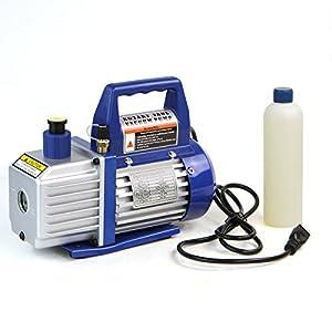 8. Xtremepower US 1/4 HP Single Stage Rotary Vane Vacuum Pump 3 CFM HVAC