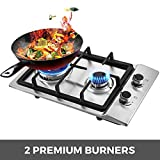 Happybuy 12x20 inches Built in Gas Cooktop 2