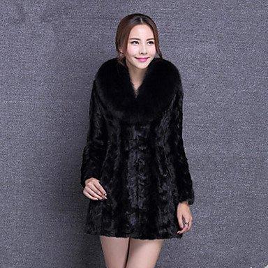 Cappotto Da donna Per uscire Casual Autunno Inverno