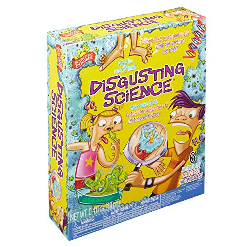 Disgusting Science Kit is one of the best toys for 6 7 and 8 year old boys