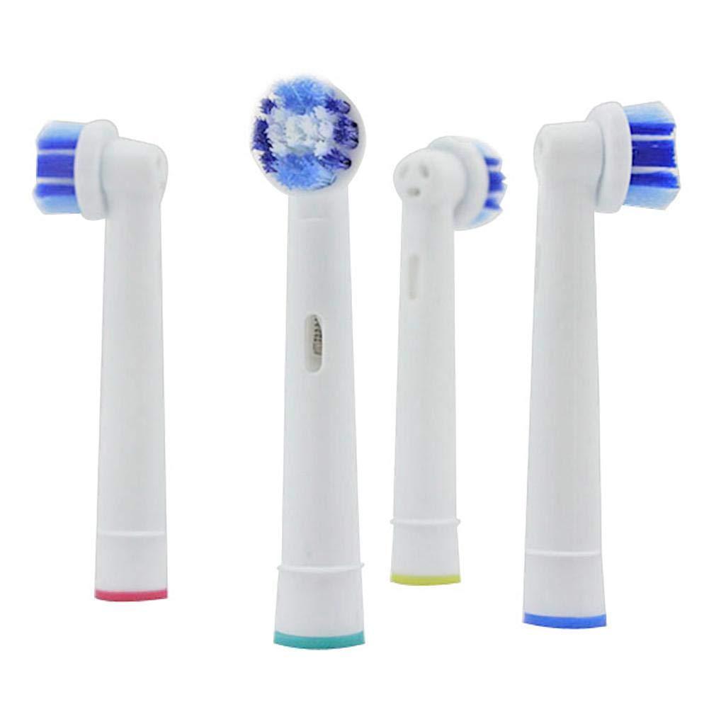 Matefield Recambios para Cepillo de Dientes Cabezales de Cepillo de Dientes de Repuesto de 4 Piezas para Hilo de Higiene Oral B de Braun (Sb-20A): ...