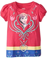 Disney Frozen Girls' Costume T-Shirt