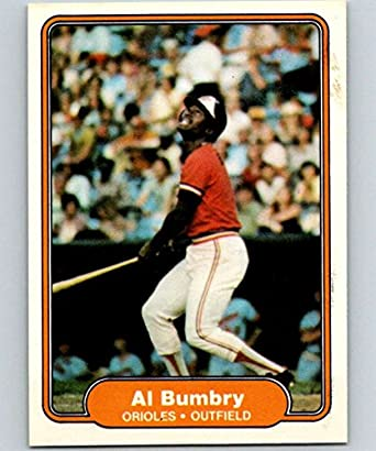 Amazoncom 1982 Fleer Baseball Card 159 Al Bumbry Baltimore