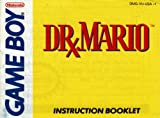 Dr Mario GB Instruction Booklet (Game Boy Manual Only) (Nintendo Game Boy Manual)