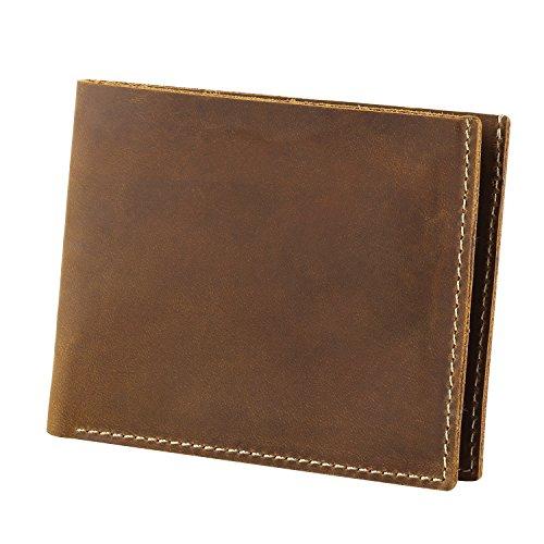 Gonex Vintage Genuine Leather Bifold