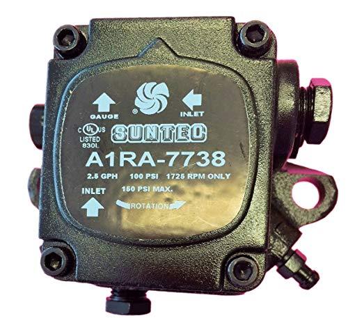 (Brand New Suntec A1RA-7738 Sundstrand Waste Oil Burner HVAC Heater Pump 100PSI - 1725 RPM)