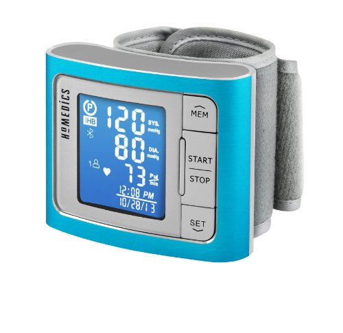 Homedics BPW-360BT Premium Wrist Blood Pressure Monitor with Bluetooth Smart