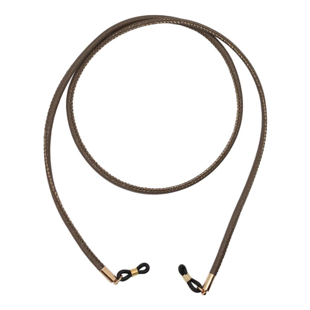 Blesiya 74cm Eyeglasses Sunglass Rope Anti-slip PU Leather Spectacle String Holder