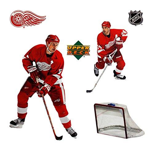 Upper Deck Top - Upper Deck Detroit Red Wings NHL Wall Stars