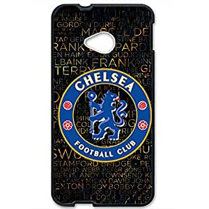 Famous Design FC Chelsea Football Club Phone Case Cover For Htc One M7 3D Plastic Phone Case