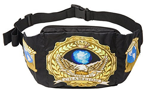 Funny Guy Mugs Premium Championship Belt Fanny Pack by Funny Guy Mugs