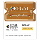 Regal Cinemas Cookie Gift Cards - E-mail Delivery