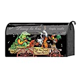 Let the Good Time Roll Wagon Bluegrass Animals 22 x 18 Standard Size Mailbox Cover