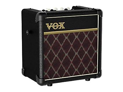 Vox MINI5R Battery Powered Amplifier with Rhythm, 5W, 1 x 6.5, Black 1 x 6.5 Korg USA Inc.