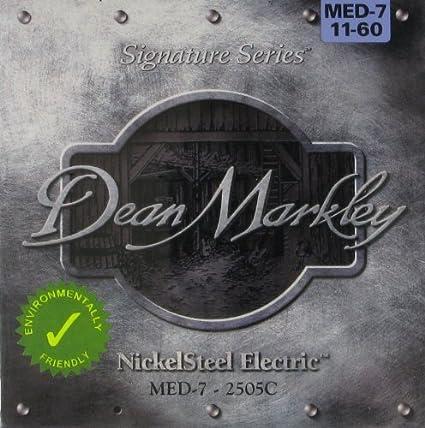 Dean Markley DM-2505C-MED - Juego de cuerdas para guitarra ...