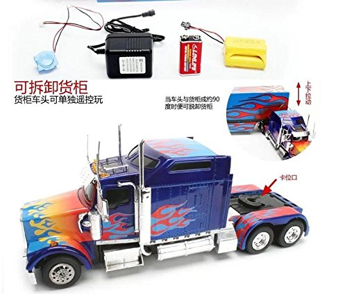 Nice Amazon.com: 85cm 6wd Radio Control Remote Control / Rc Us Trailer Container  Truck Tractor Car: Toys U0026 Games Awesome Design
