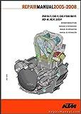 3206052-E 2005-2008 KTM 250SX-F 250SXS-F 250XC-F 250XCF-W 250EXC-F 250 EXC-F Six days Motorcycle Engine Repair Manual