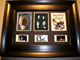 PINK FLOYD THE WALL Framed Trio 3 Film Cell Display Collectible Movie Memorabilia