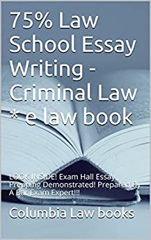 law school essay book