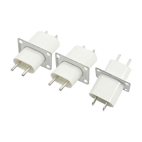 Conector de enchufe de los EEUU Microondas Filamento soldadura magnetrón 3 PC