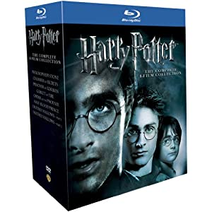[Amazon UK] Harry Potter, die komplette Blu ray Box inkl. Versand 48,41€
