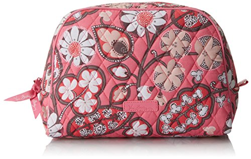 Vera Bradley Large Zip 2.0 Cosmetic Bag, Blush Pink, One Siz