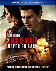 Cover Image for 'Jack Reacher: Never Go Back [Blu-ray + DVD + Digital HD]'