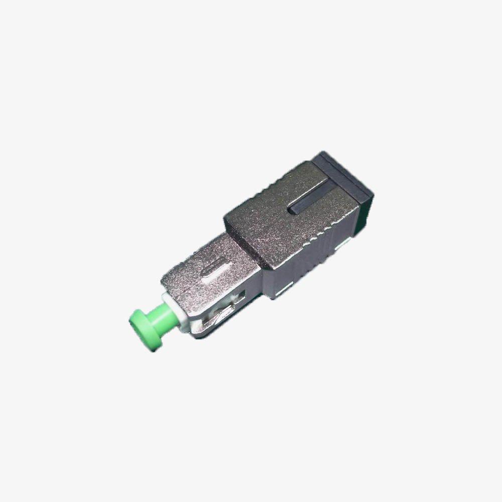 Singlemode Fiber Optic Attenuator SC/APC Fixed (15dB)