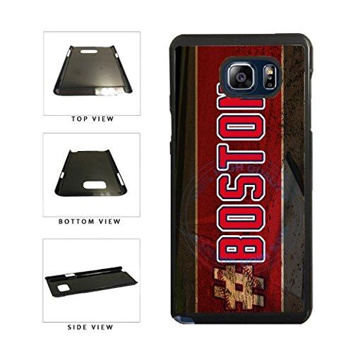 BleuReign(TM) Hashtag Boston #Boston Baseball Team Plastic Phone Case Back Cover For Samsung Galaxy Note V 5