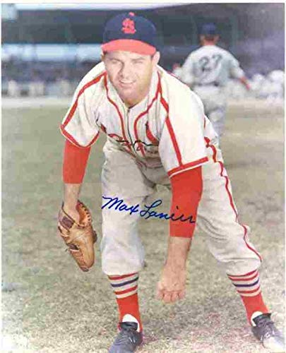 Autographed Signed 8x10 Photo Max Lanier Cardinals - Certified Authentic
