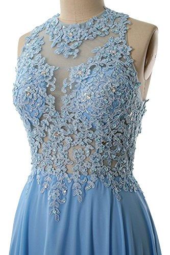 Spitze Damen Lang Hochzeit Festkleider Elegant Abendkleider Beyonddress Partykleider Chiffon Champagne Brautjungfernkleider 14wqR