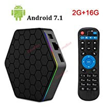 2018 2G+16G T95Z Plus Android 7.0 TV BOX Dual WiFi 2.4/5GHz S912 Octa-core cortex-A53 Set-top android TV Box