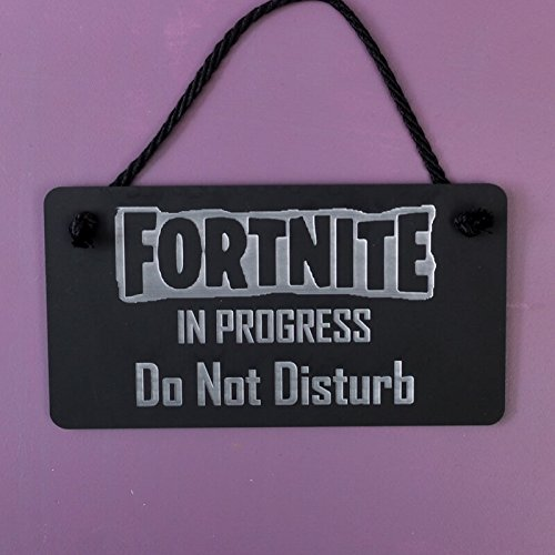 Signs & Numbers Fortnite - Placa para colgar, diseño de ...