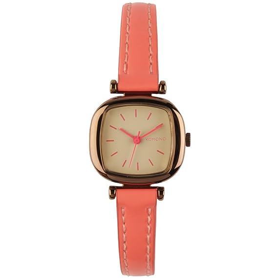Komono Reloj - Moneypenny - Dayglow Coral