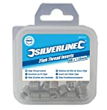 Silverline 583942 Helicoil Type Thread Inserts M12 x 1.75 mm - Pack of 10