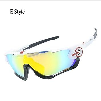 Zj-Montar Gafas Cuatro Gafas De Sol Gafas De MontañA Gafas ...