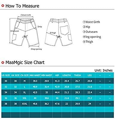 MaaMgic Mens Quick Dry Flamingo Swim Trunks With Mesh Lining Long