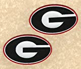 University of Georgia Bulldogs UGA Team Logo Iron-on Jersey Patches